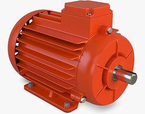 3D industrial Electric Motor