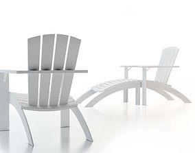 Skagerak Adirondack Chair 3D model