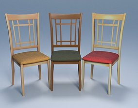 3D model Chair3 for interior cafe and kitchen