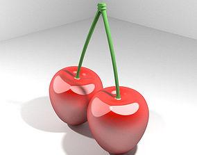 3D Mediterranean Fruit - Cherry