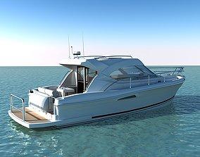 Riviera 3600 Sport Yacht 3D motorboat