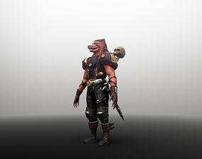 3D asset Anubis Soldier