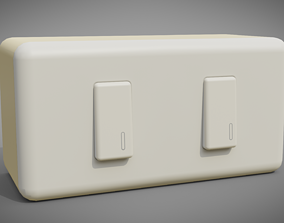 3D asset Electric Switch