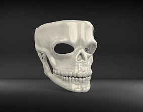 Mask James Bond Spectre Skull 007 3D model