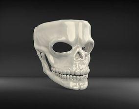 Mask James Bond Spectre Skull 007 3D model