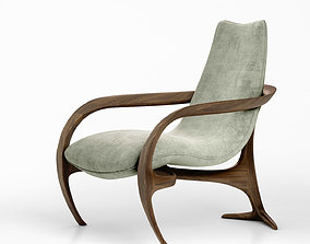 Vladimir Kagan Gigi chair model 720 3D