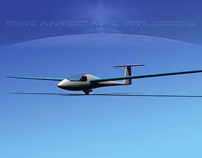 Venture Sailplane 3D asset