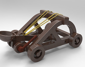 Desktop Catapult 3D