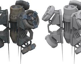 Shield Bubble Generator 3D model
