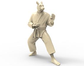 3D print model Rabbit Kokutsu Dachi Stance