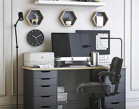 Office workplace 42 3D model