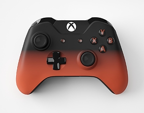 Xbox One Volcano Shadow Special Edition Controller 3D