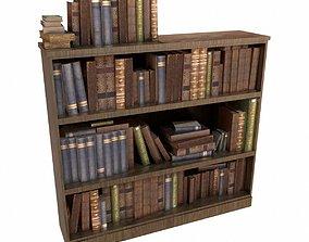 Bookcase 3D asset