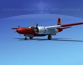 3D Douglas Connair 322 V01