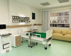 intersive 3D model Patient Room