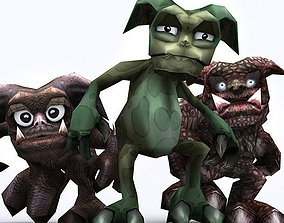animated 3DRT - Fantasy Gremlins