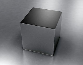 Metal Box 3D model game-ready