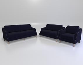 Vessot Collection Sofa 3D model