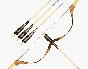 3D asset animated Composite Bow