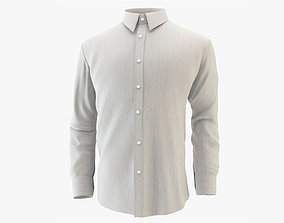 3D Shirt White