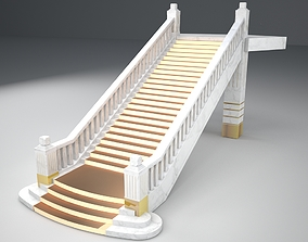 Stairs 3D model architectural