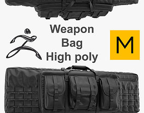 Weapon Bag High Poly 3D model
