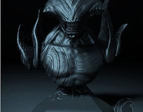 3D print model fantasy FACELESS VOID BUST DOTA 2