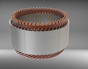 Hairpin winding 3D