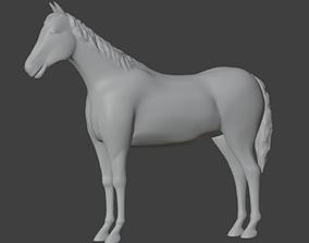 stl Horse 3D Print