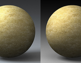 3D model Sand Landscape Shader 050