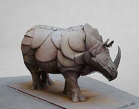 Rhinoceros animals 3D model
