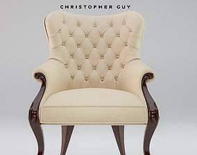 Armchair Christopher Guy ELYSEES 3D
