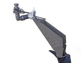 3D model Anchor Windlass Combination System 80 kg