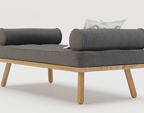 3D model Furniture - Day bed one Another country - 3