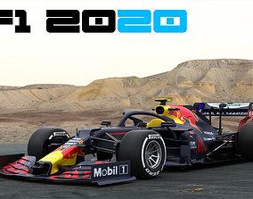 3D F1 Red Bull RB16 2020