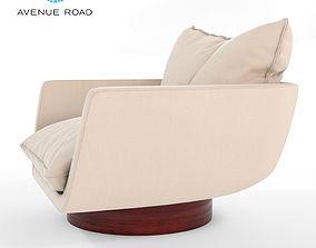 3D Rua Ipanema Lounge Chair