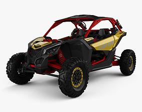BRP Can-am Maverick X3 XRS with HQ interior 2017 3D