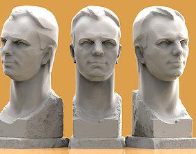 Gagarin photogrammetry 3D print model