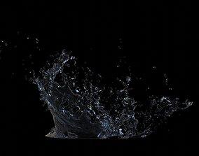nature Water Splash 3D model