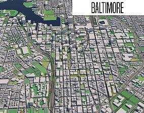 3D model Baltimore
