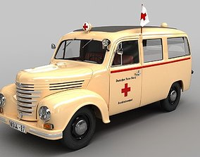 3D model Barkas Framo V901 Ambulance
