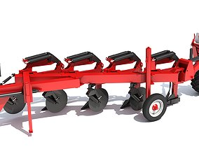 3D Semi Mounted Plow