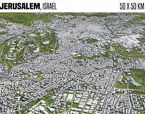3D model Jerusalem Israel