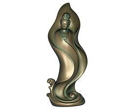 3D print model 3D asset realtime Goddess of Mercy