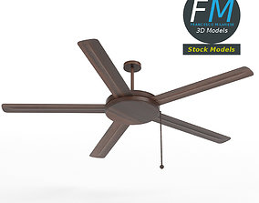 3D Wooden ceiling fan