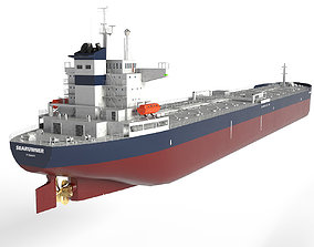 Oil Tanker Panamax 245m 3D model