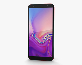 Samsung Galaxy J6 Plus Red 3D model