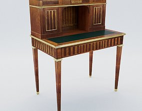 Small secretaire of Louis XVI - France - 19th 3D model