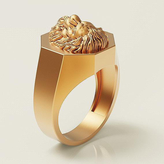 Fashion Lion Ring