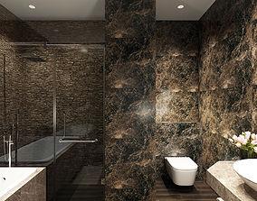 modern Bathroom Luxury 3D model